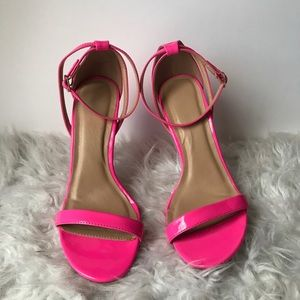 Wild Dive Lounge Neon Pink Heels